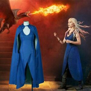 Game-of-Thrones-Daenerys-Targaryen-Dress-Costume-Women-Halloween-Cosplay-Beauty