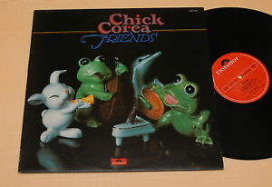 CHICK-COREA-LP-JAZZ-FRIENDS-1-PRESS-ITALY-1978-TOP-NM