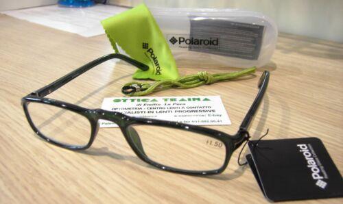 2.75 Verde Scuro Occhiali x Lettura Reading Glasses Polaroid R935