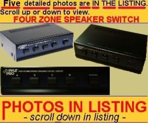 SPEAKER-SWITCHER-SELECTER-SELECTOR-2-3-or-4-ZONE-ROOM