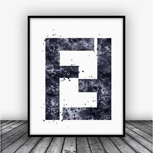 Fendi-Logo-Art-Print-Poster-Black