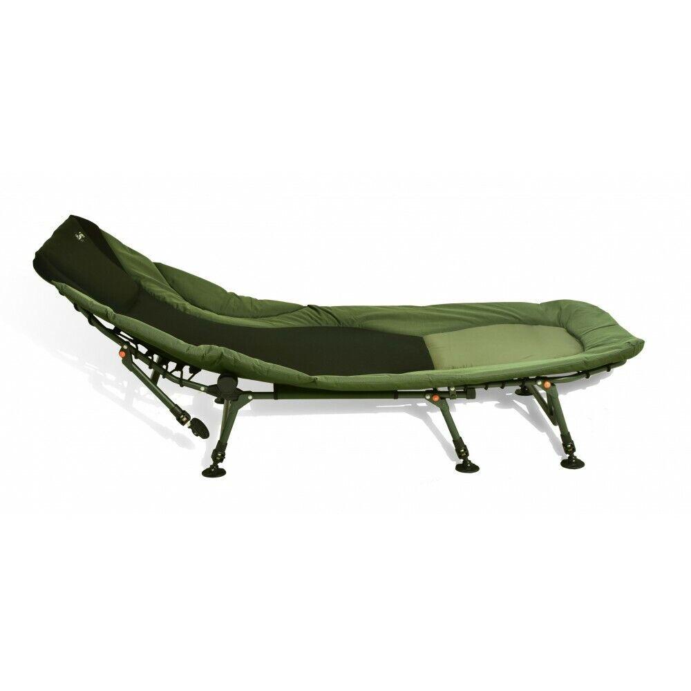 autopon gree uno Bedchair tuttiuminio 8beine Appoggiare le autope Campeggio 100 cm X