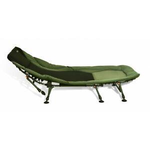CarpOn Big One Bedchair Aluminium 8-Beine Karpfenliege Camping 100 cm x 210 cm