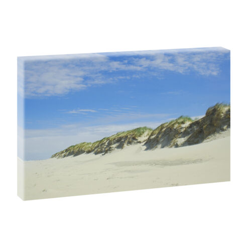 Bilder Keilrahmen Leinwand Meer Strand Nordsee  100cm*65cm XXL Nordseedünen 440