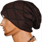 Unisex Women Men Hip-Hop Warm Winter Wool Knit Ski Beanie Skull Slouchy Cap Hat