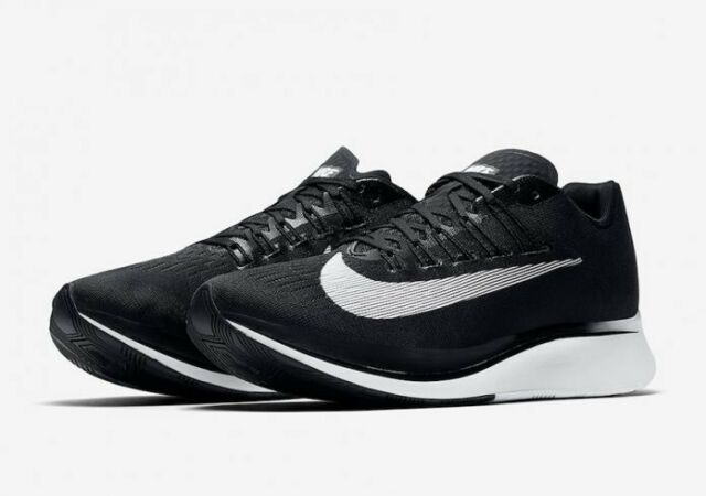 c4528213c8e3 Nike Men s Zoom Fly Black white Anthracite Running Shoe 12 Men US ...