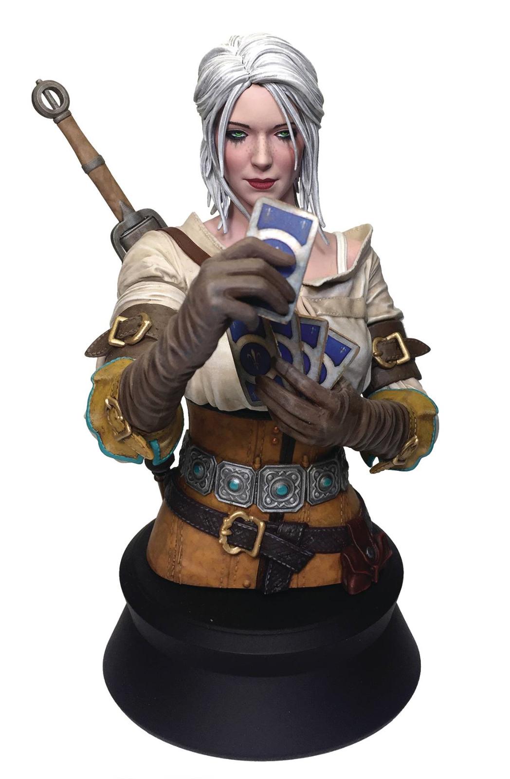 The Witcher 3 Wild Hunt buste Ciri Gwent  Dark Horses  réductions et plus
