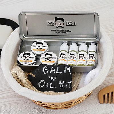 Mo Bro's Beard Balm & Oil Kit