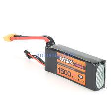 High Capacity XT60 VOK 11.1V 1500mAh 25C 3S Lipo Battery for RC Racing Drone Kit