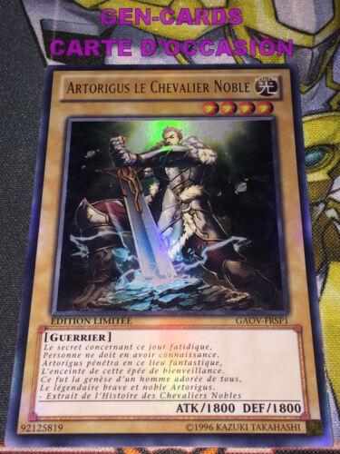 OCCASION Carte Yu Gi Oh ARTORIGUS LE CHEVALIER NOBLE GAOV-FRSP1