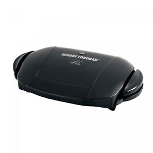 George-Foreman-5-Serving-Removable-Plate-Electric-Indoor-Grill-and-Panini-New