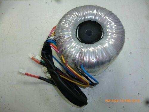 23 volt 5 amp Toroidal Transformer 230v with 6 secondaries each at 23V 5A