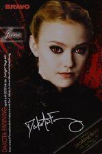 DAKOTA FANNING - Autogrammkarte - Signed Autograph Twilight Clippings Sammlung