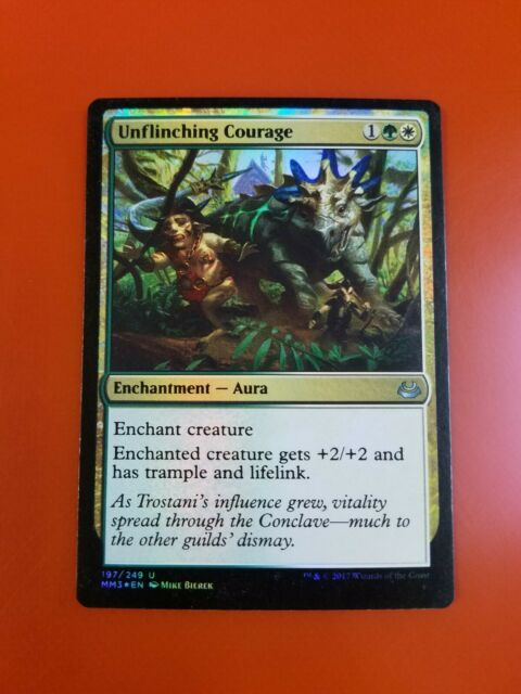 1x Unflinching Courage | FOIL | Modern Masters 2017 | MTG ...