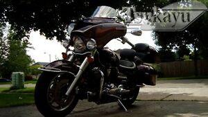 Tsukayu-Batwing-GPS-Fairing-For-Yamaha-VStar-Classic-Silverado-Gelcoat