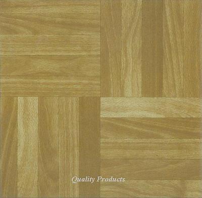 88 x Vinyl Floor Tiles - Self Adhesive - Kitchen,,, BNIB,, Wooden Squares Effect