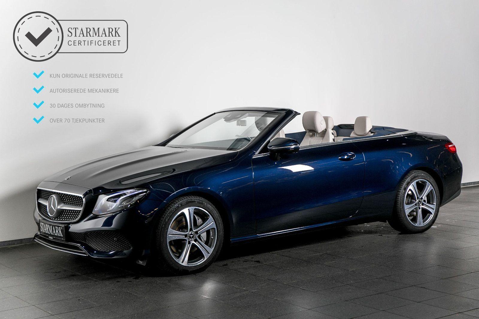 Mercedes E300 2,0 Cabriolet aut. 2d - 869.900 kr.
