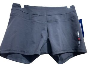 Reebok CrossFit Women's Shorts Size S Black New with Tags Inseam 2