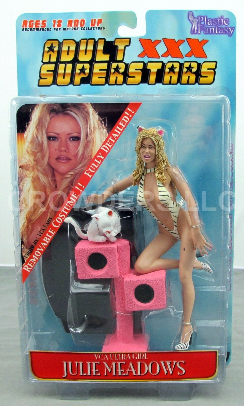 Plastic Fantasy Adult XXX Superstars Superstars Superstars JULIE MEADOWS Remove Costume Full Detail a88770