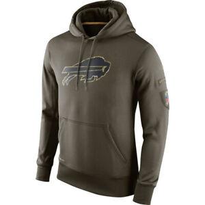 Buffalo-Bills-Hoodies-Men-039-s-Sweatshirts-Salute-to-Service-Sideline-Pullover-Coat