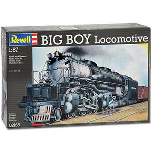 REVELL-Big-Boy-Locomotive-1-87-Model-Train-Kit-02165