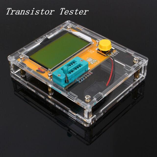 LCR-T4 Mega328 Transistor Tester Diode Triode Capacitance ESR Meter W/ Shell US