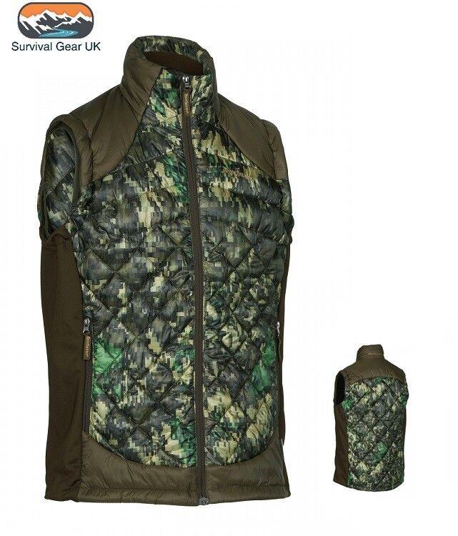 Deerhunter Platinum Thinsulate Cumberland Quilted Gilet Waistcoat IN-EQ Camo