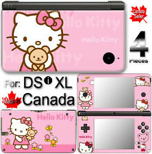 Hello Kitty SKIN COVER STICKER DECAL #1 for DSi XL LL