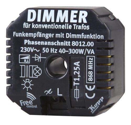 Dimmfunktion konv Kopp Free Control Funk-Empfänger m Trafo 801200025