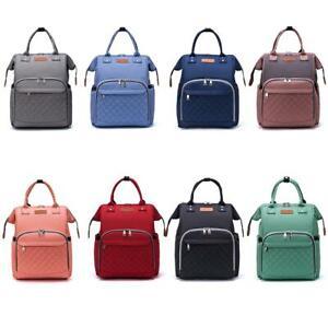LEQUEEN-Mummy-Diaper-Bag-Outdoor-Maternity-Nursing-Baby-Care-Backpack-Satchel