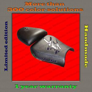 Design-Seat-Cover-Suzuki-Hayabusa-99-07-HANDMADE-black-dark-blue-gloss-001-2
