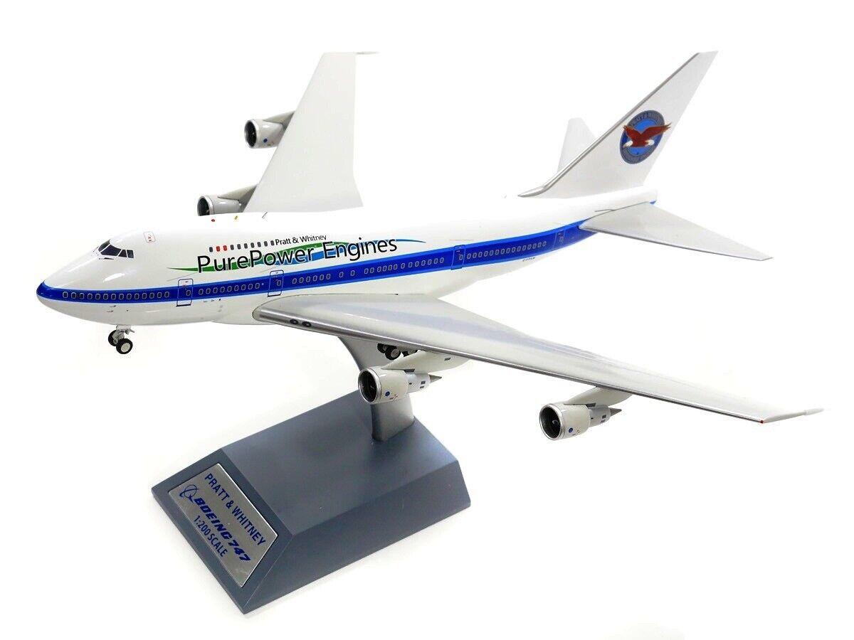 If747sppw01 1 200 Pratt And Whitney Kanada Boeing 747sp C-Fpaw Prüfung M   Stand
