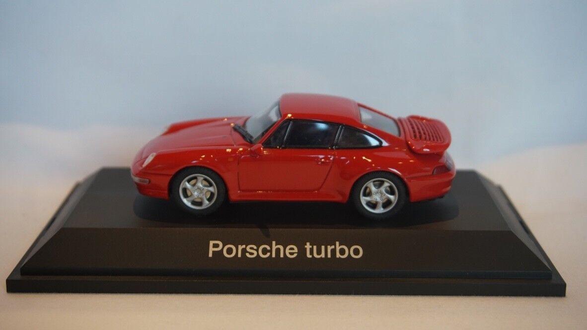 Schuco Porsche Turbo Rojo 1 43