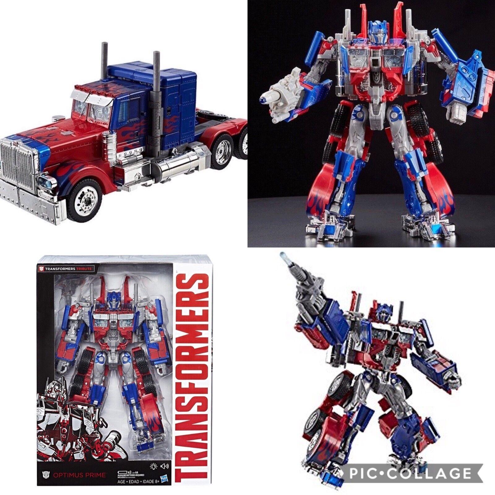 Transformers Movie Anniversary Anniversary Anniversary Edition Optimus Prime NIB 587b21
