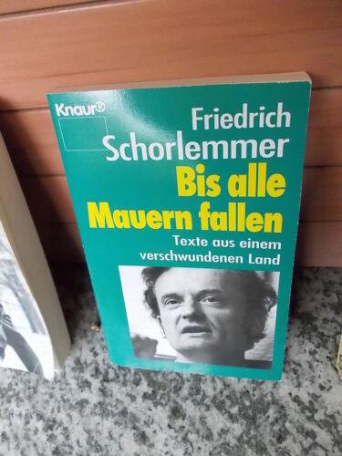 1 von 1 - Bis alle Mauern fallen, von Friedrich Schorlemmer, aus dem Knaur Verlag
