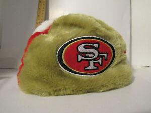 Image is loading San-Francisco-49ers-Football-HELMET-Winter-BEANIE-HAT- 77fd83748