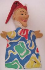 Old German Cloth Character Hand Puppet - Punch & Judy