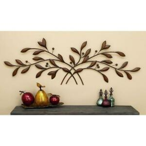 Details About Metal 60 In Branch Wall Decor Hanging Home Entryway Modern Art Sculpture Bronze