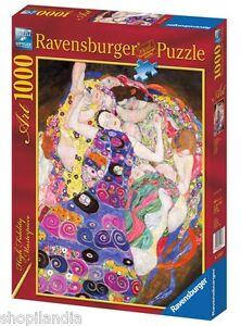RAVENSBURGER-15587-Puzzle-1000-Piezas-KLIMT-LA-VIRGEN-The-Virgin-Vierge-JIGSAW