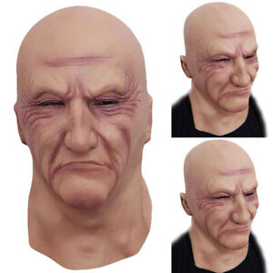 Latex-Old-Man-Mask-Male-Disguise-Cosplay-Costume-Halloween-Party-Realistic-Masks