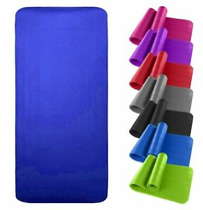 Yoga-Fitness-Workout-Mat-Non-Slip-Physio-Thick-Large-Comfortable-Flooring-Mat