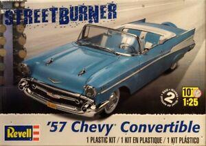 1957 Chevy Convertible Bausatz 1:25 Model Kit Revell 4270 Chevrolet Cabrio