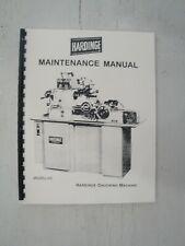 Hardinge Hc Chucking Machine Maintenance Manual