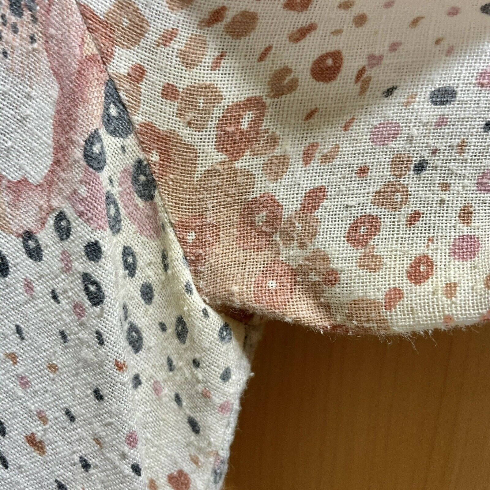 Vintage 70s Floral Maxi Dress Lace Sleeves Fairyc… - image 12
