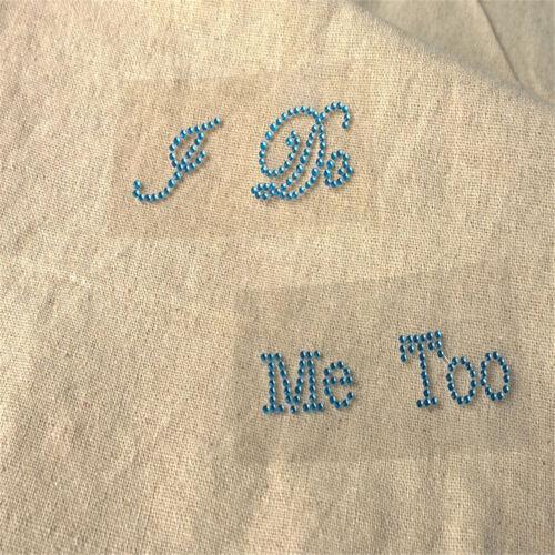 I Do /& Me Too Set Wedding Bridal and Groom Shoes Sticker Wedding Decal DRZY