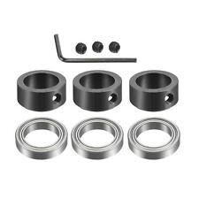 3pcs Bearings Accessory Kit Bearings Stop Ring Fit For 12 Shank Router Bit
