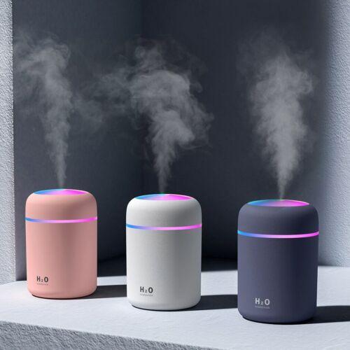 Portable Air Humidifier 300ml Ultrasonic Aroma Essential Oil Diffuser Mist Maker