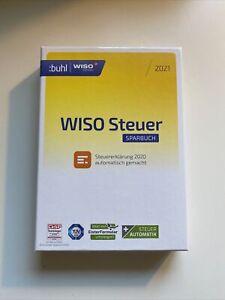 WISO Steuer Sparbuch 2021 CD für Windows neuwertig nicht ...