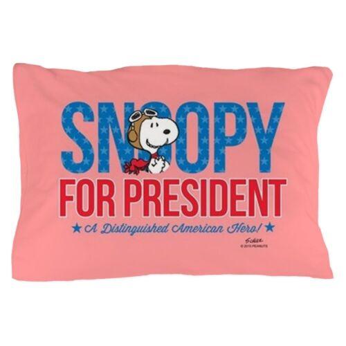 1910782970 CafePress Snoopy For President Full Bleed Pillow Case