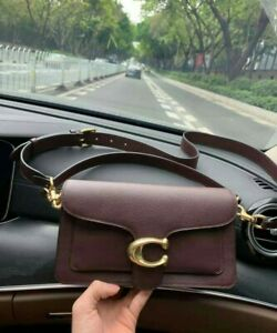 Coach-Tabby-bag-handbag-shoulder-sling-bag-oxblood
